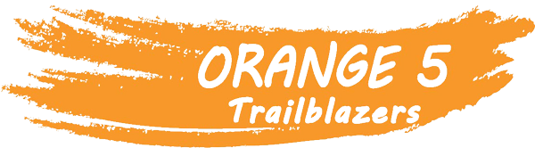 logo for orange 5 trailblazers